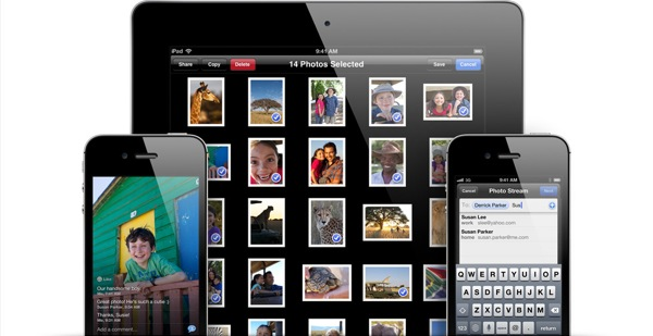 Photostream gallery overview