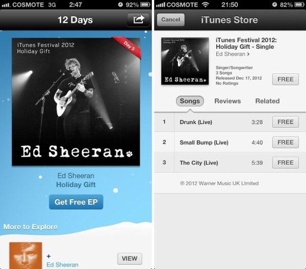 Itunes day5