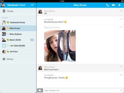 Skype for ipad update 4 5 with auto reconnect drop calls copy greekiphone