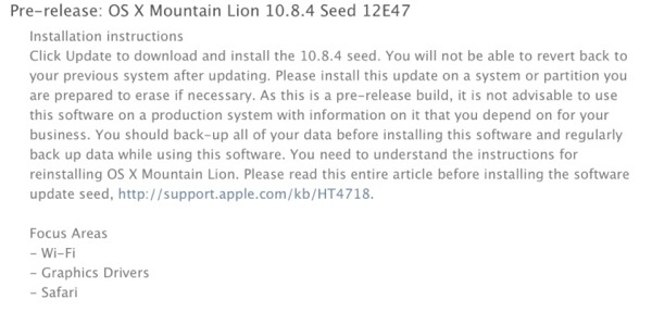 os x 1084 new seed