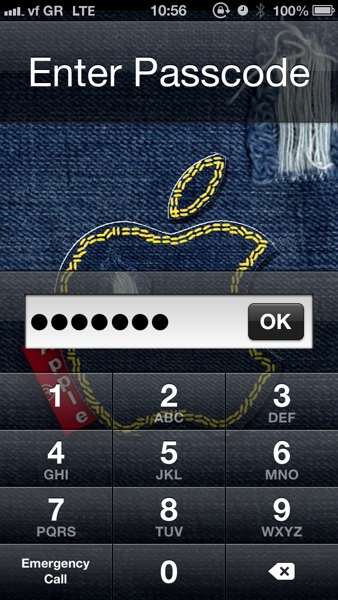 protect your ios device with stronger passcode lock on numeric keyboard greekiphone