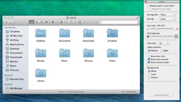 reveal library folder permantly on mavericks greekiphone